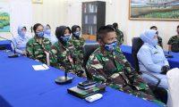 Srikandi Angkatan Udara Dapat Pembekalan di Lanud Silas Papare