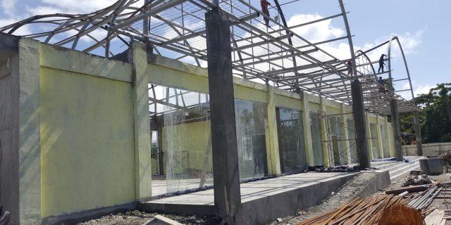 Aneh Pembangunan Kedatangan dan Keberangkatan Bandara Stevanus Rumbewas '2 Kali Kontrak Diperpanjang'