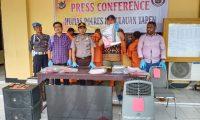 Polres Yapen Amankan 2 Pelaku Pencurian di Rumah Sekda