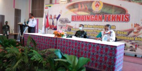 KONI Papua Gelar Bintek Pelatih dan Asisten Pelatih