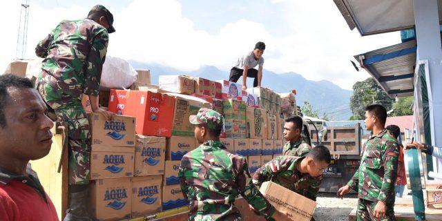 Kementerian PUPR Bantu Korban Wamena 11 Ton