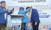Dinilai Inskontusional DPD Demokrat Papua Minta DPP Pusat Tindak Subur Sembiring Cs