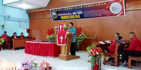 Bupati Ajak Gereja Klasis Yapen Bangun Jemaat Diberbagai Aspek