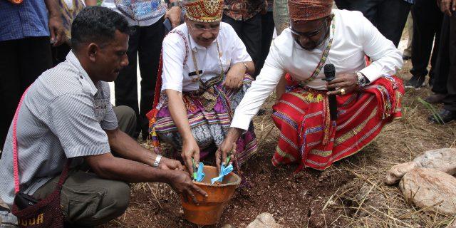 Ricky Ham Pagawak Realisasikan Janjinya Bangun Gereja di Kupang