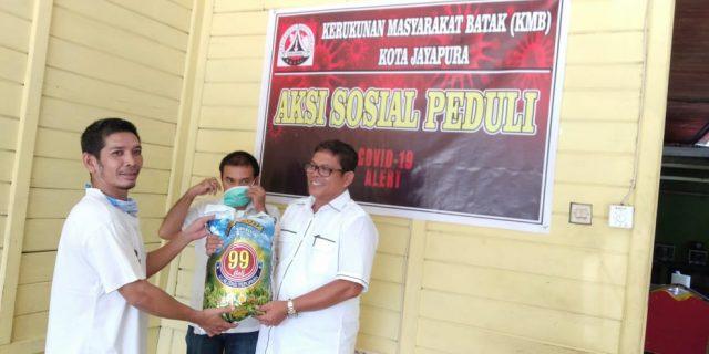 Ditengah Pandemi Covid -19, Tahap I KMB Kota Salurkan Bantuan Beras 3 Ton