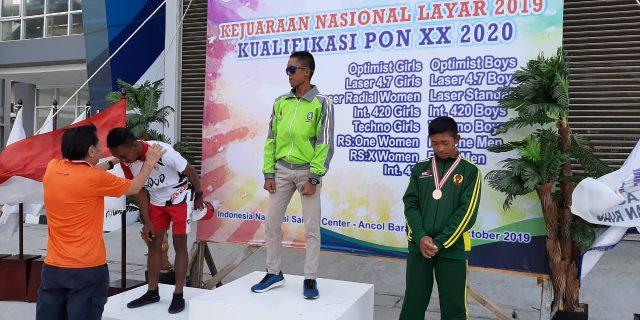 Tim Layar Papua Rebut Medali Perak