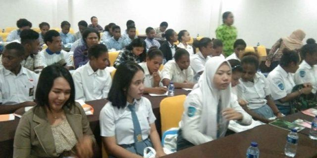 Dispar Papua Gelar GTS Sasar Pelajar dan Mahasiswa