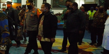 Mendagri Cek Kesiapan Pilkada Papua