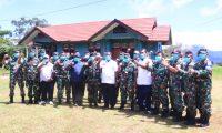 Cegah Corona Masuk di Mamteng, TNI-POLRI Siapkan 60 Anggota di Tiga Titik