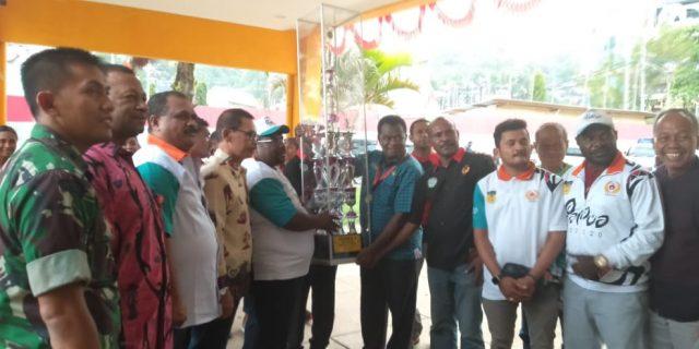 PON XX, Tra Kosong…SOFTBALL Papua Sukses Sandingkan Dua Piala
