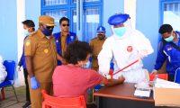 Giliran Masyarakat Distrik Kobakma Mamteng Ikut Rapid Test