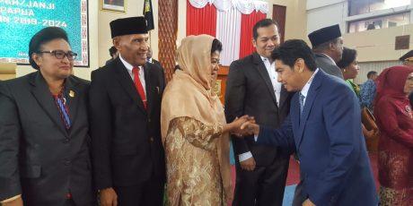 55 Anggota DPR Papua Dilantik