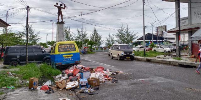 Kesadaran Masyarakat di Serui Buang Sampah Masih Kurang