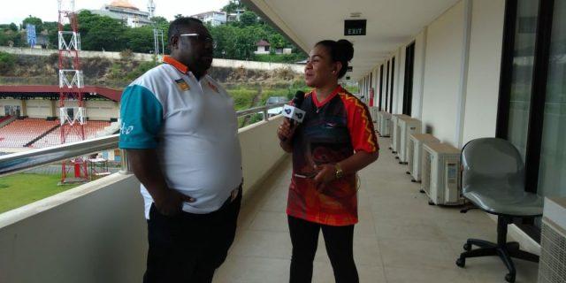 KONI Papua Dukung TIM Sepakbola PON Papua Try Out ke Jawa