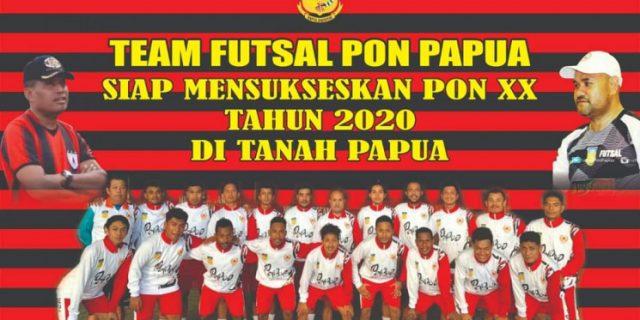 PON XX, Futsal Papua Rencanakan Try Out ke Thailand