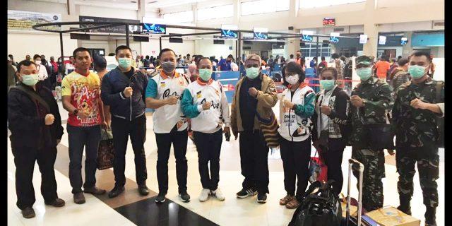 Tim Monev Kesehatan Puslatprov KONI Papua Diberangkatkan