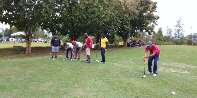 Tim Gateball Papua Uji Coba Lapangan