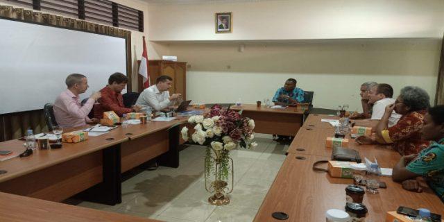 Pemprov Papua Bangun Kerjasama dengan Universitas Aberdeen