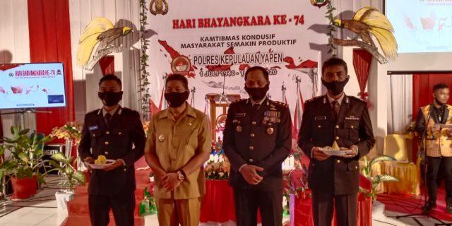 HUT Bhayangkara Ke-74, 11 Anggota Polres Terima Penghargaan
