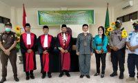 Resmi 4 Hakim Baru Bertugas di PN Serui