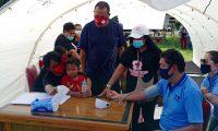 Bupati Yapen Menyambut Pembangunan Bank Darah Oleh PMI Yapen