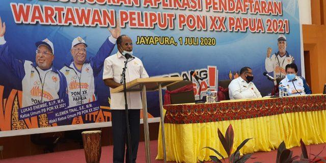 Wartawan Peliput PON XX Papua Tak di Batasi