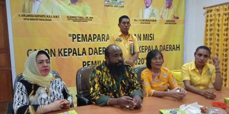 PILKADA 11 Kabupaten, Golkar Papua Libatkan Akademisi Uji Calon Bupati