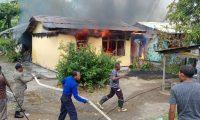 Kebakaran di Yapen Selatan, Sijago Merah Lahap 2 Rumah Warga